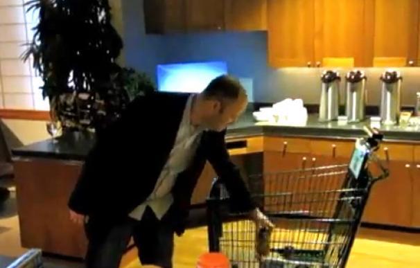 Carrito de la compra con Kinect