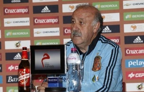 """Del Bosque: """"Nunca me oiréis quejarme por no haber hecho una preparación adecuada, la vamos a hacer"""""""