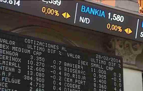 El Estado vende en 1.304 millones un 7,5 por ciento de Bankia y gana 136 millones