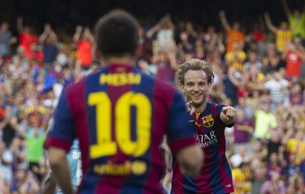 6-0. El Barça golea en una gran tarde de Messi y de un Neymar trigoleador