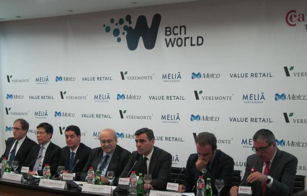 Imagen de la presentación del proyecto BCN World.