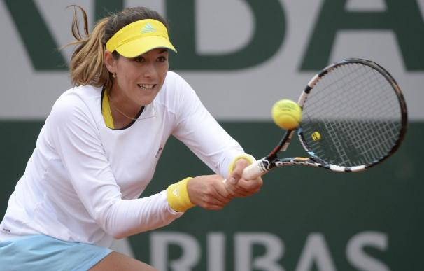 Garbiñe Muguruza no puede con Jankovic y se despide de Roland Garros