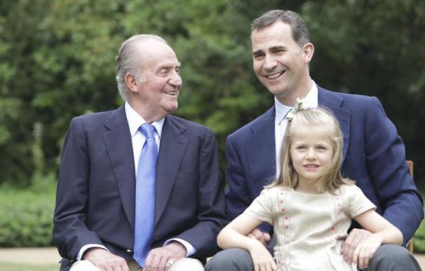 La Casa Real española, la primera de Europa en una ley de Transparencia