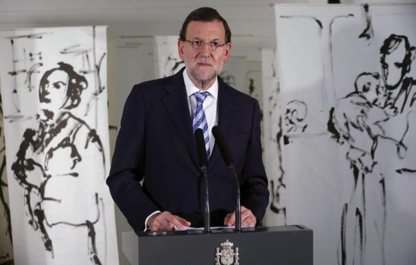 Rajoy destaca en el Instituto Cervantes la pujanza del español en China