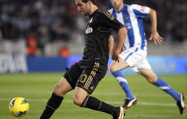 0-1. El Real Madrid impone en Anoeta la ley del mínimo esfuerzo