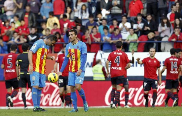 El Levante se deja el liderato en Pamplona