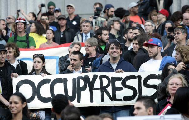 Las protestas de los indignados contra Wall Street se extienden a Washington