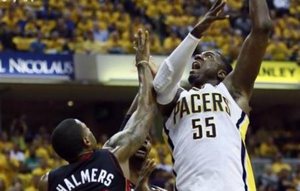 Los Pacers ganan a los Heat y empatan su eliminatoria en la NBA
