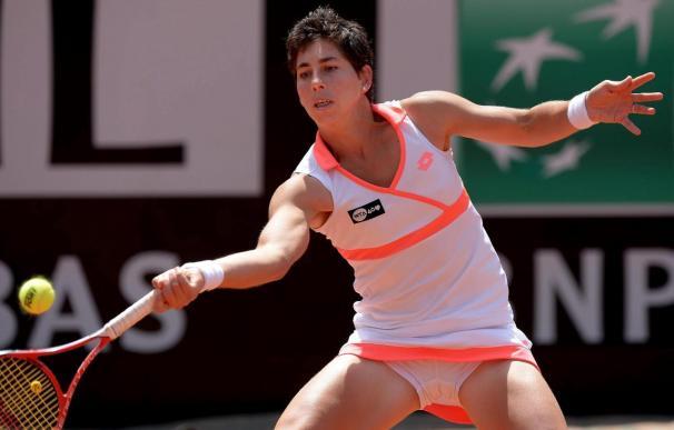 Carla Suárez vence a Rogers y avanza en Roland Garros