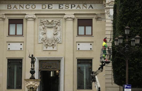 El Banco de España aprecia los primeros síntomas de mejora en la economía.