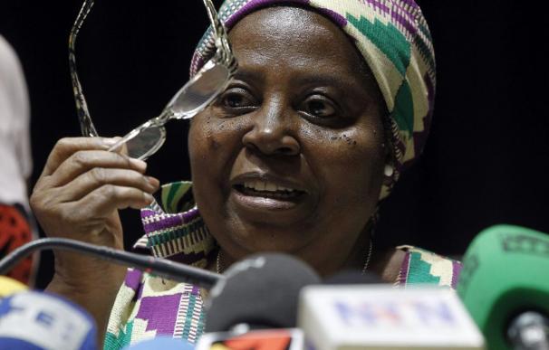 La religiosa Bonoha afirma que es duro estar aquí mientras sus hermanas están en Liberia