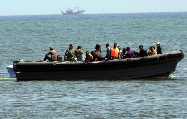 Interceptada una patera con 21 subsaharianos que pretendía llegar a Melilla