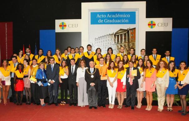 Acto académico de graduación de las promociones de la Facultad de Medicina de la Universidad CEU San Pablo.