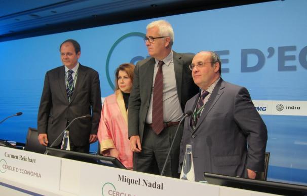 Carmen Reinhart (Harvard) ha tomado parte en las reuniones del Círculo de Economía de Sitges.