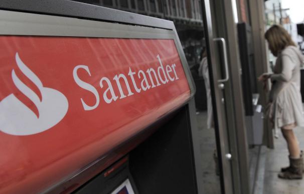 Fotografía oficina Banco Santander