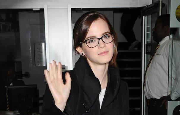 Emma Watson, líder de un grupo de música