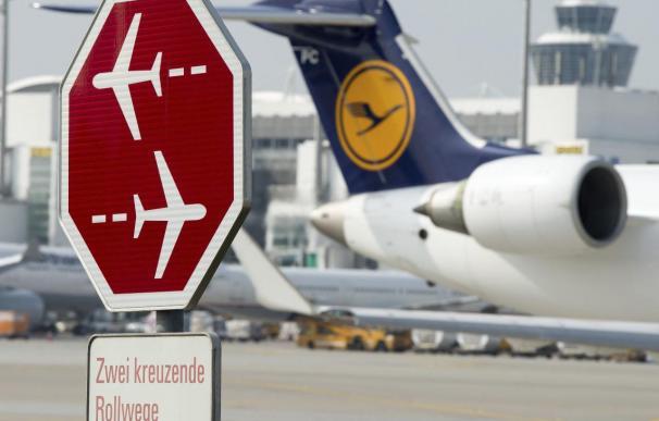 Los pilotos de Lufthansa comienzan un paro parcial de 15 horas en Fráncfort