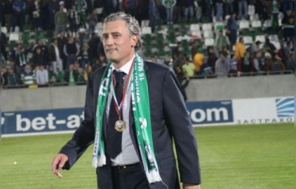 Kiril Domuschiev, presidente del Ludogorets