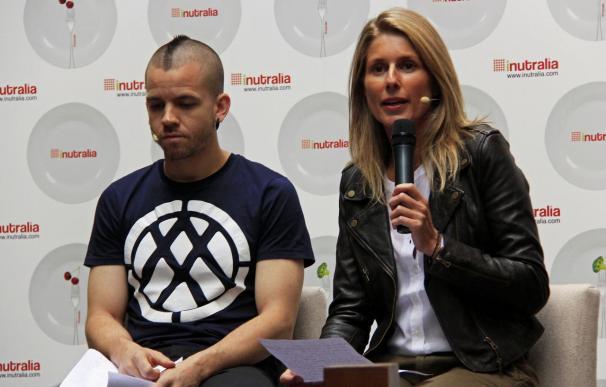 María Chavarri y David Muñoz, embajadores de un nuevo portal de nutrición