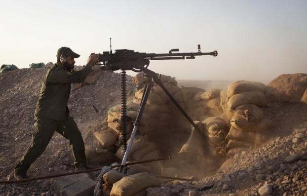Fuerzas iraquíes y kurdas recuperan enclaves en manos del Estado Islámico