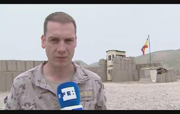 Las tropas españolas cierran uno de los tres puestos de combate en Afganistán
