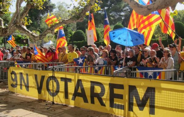 ANC y Òmnium convocan este martes concentraciones si el TC suspende el 9N