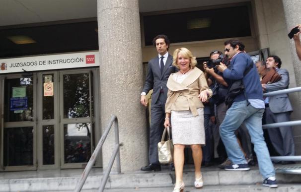 Los agentes de Movilidad declaran ante el juez que dieron el alto con las sirenas a Aguirre en la calle Gran Vía