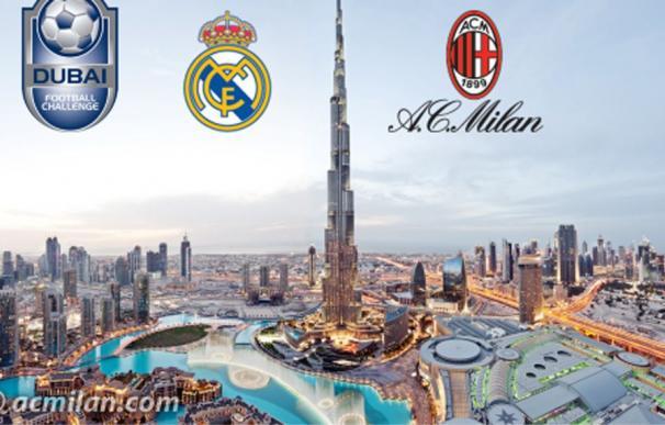 Anuncio del amiostoso entre el Madrid y el Milan
