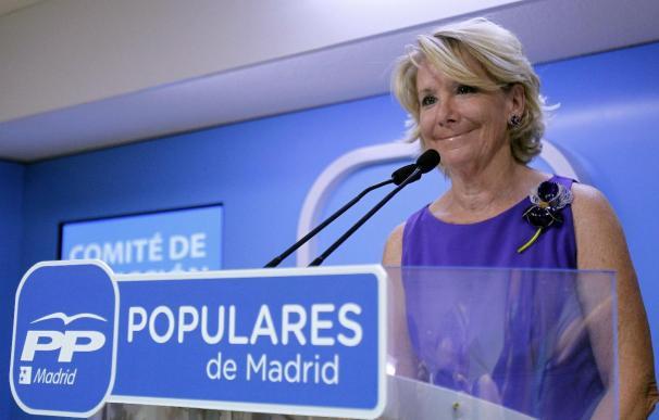 Aguirre cree que los catalanes no quieren convertirse en una república bananera