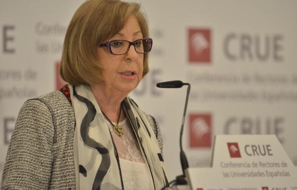 """La presidenta de la CRUE dice que escalonar la LOMCE servirá para """"mejorar"""" el acceso a la universidad"""