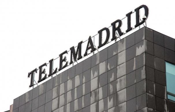 """Telemadrid emite autopromociones con una leyenda que dice que la huelga """"impide la emisión"""" en la cadena"""