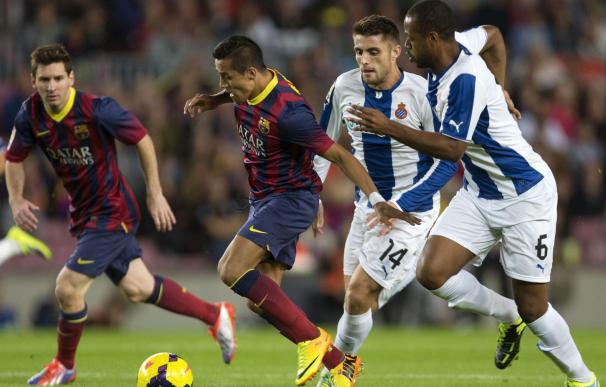 Barcelona - Espanyol: las espectaculares fotos del derbi catalán