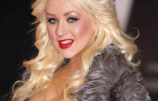 Christina Aguilera es feliz con su hijo
