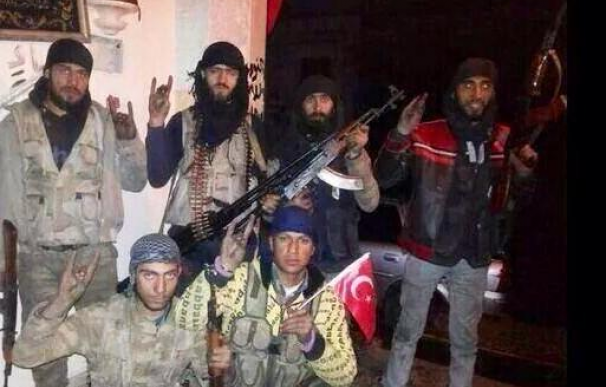 Yihadistas turcos combatientes por Estado Islámico en Siria