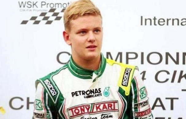 Mick Schumacher, hijo del heptacampeón del mundo de la F1