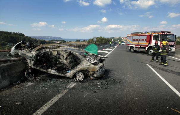 Siete personas mueren en seis accidentes de tráfico este fin de semana