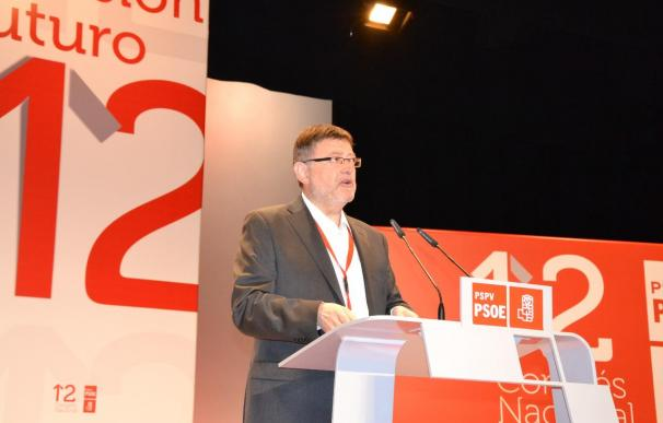 Puig, elegido secretario general de los socialistas valencianos