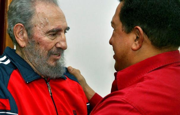 Las familias de Chávez y Castro viven de manera lujosa en comparación con la situación de la población