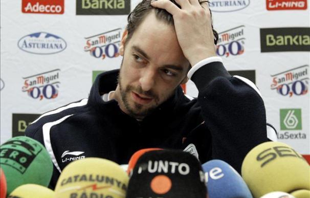 """Pau Gasol asegura que la selección española tiene """"margen de mejora"""""""