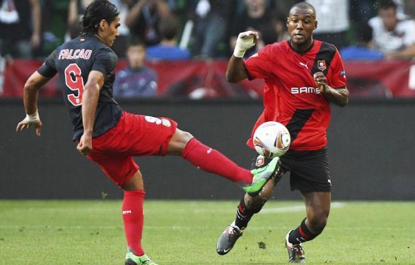 Falcao no rugió ante el Rennes