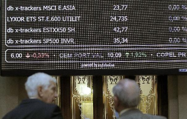 La Bolsa española sube el 1,32 por ciento tras el apoyo de Alemania al fondo de rescate