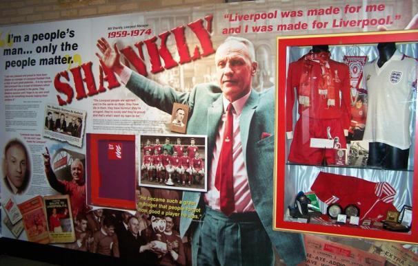 Bill Shankly, hostigador del Everton