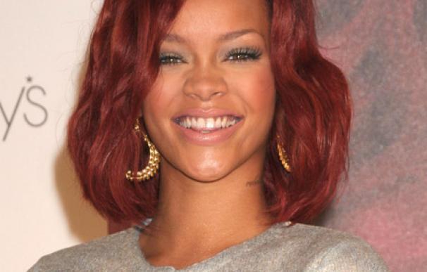 Rihanna tontea con un boxeador