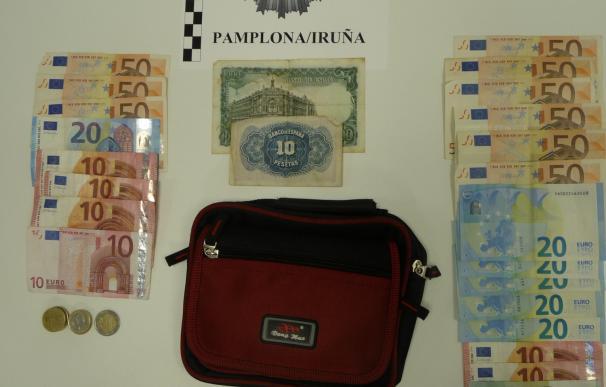 Dos detenidos en Pamplona por intentar engañar a un ciudadano mediante el timo del tocomocho