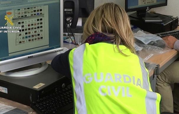 Cinco detenidos en CyL por distribuir en Internet imágenes de explotación sexual infantil