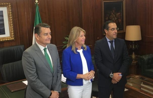 Sanz señala que agilizará la instalación de la videovigilancia en Marbella