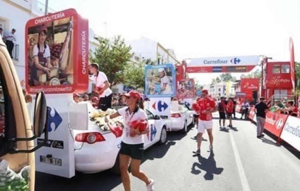 Cerca de 5.400 colaboradores de Carrefour participarán como voluntarios en La Vuelta