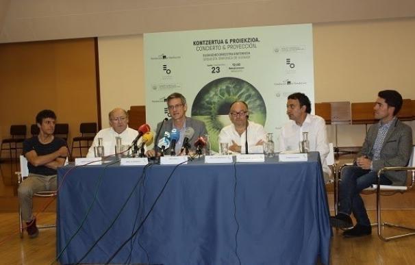 La OSE y el Orfeón Donostiarra interpretarán bandas sonoras del cine español el próximo día 23, por el Festival de Cine