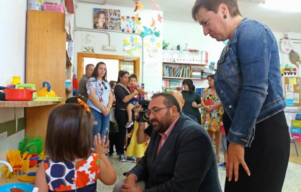 Unos 85.000 alumnos vuelven a las aulas de Infantil, Primaria y Educación Especial