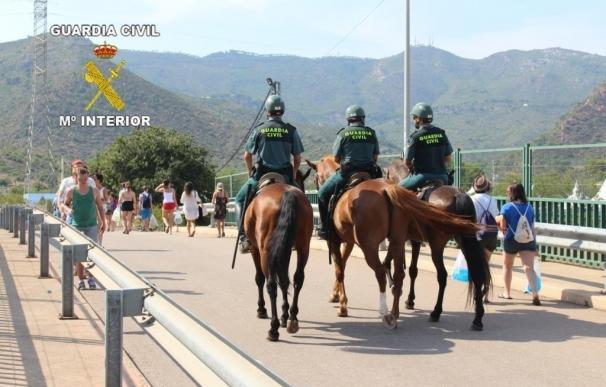 Detenidas 84 personas durante el FIB, el Arenal Sound y el Rototom, la mayoría por venta de droga
